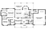 Ranch Style House Plan - 2 Beds 3 Baths 1730 Sq/Ft Plan #126-163 Floor Plan - Main Floor Plan