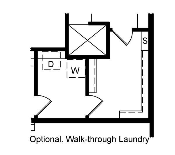 Craftsman Floor Plan - Other Floor Plan Plan #20-2201