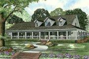 Southern Style House Plan - 3 Beds 2.5 Baths 2851 Sq/Ft Plan #17-2190