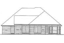 Dream House Plan - European Exterior - Rear Elevation Plan #310-899