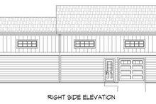 Dream House Plan - Cottage Exterior - Rear Elevation Plan #932-118
