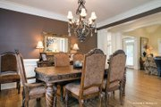 European Style House Plan - 3 Beds 2.5 Baths 2193 Sq/Ft Plan #929-34 Interior - Dining Room