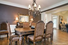House Plan Design - European Interior - Dining Room Plan #929-34