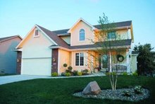 Home Plan Design - Traditional Exterior - Front Elevation Plan #20-499