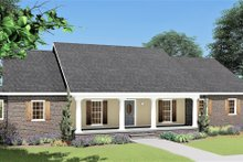 Dream House Plan - Traditional Exterior - Front Elevation Plan #44-122