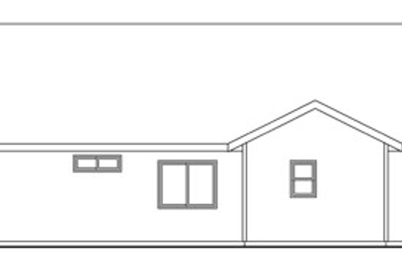 Traditional Exterior - Other Elevation Plan #124-762 - Houseplans.com