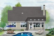 Cottage Style House Plan - 3 Beds 3.5 Baths 1872 Sq/Ft Plan #929-1126