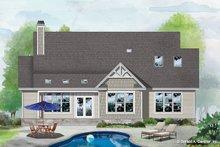 Architectural House Design - Craftsman Exterior - Rear Elevation Plan #929-1112