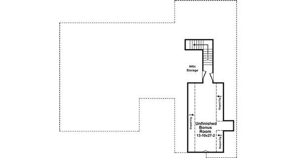 Country Floor Plan - Other Floor Plan Plan #21-375