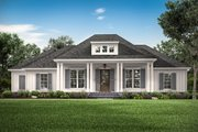Southern Style House Plan - 3 Beds 2.5 Baths 2588 Sq/Ft Plan #430-216 Exterior - Front Elevation