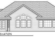 Dream House Plan - European Exterior - Rear Elevation Plan #70-713