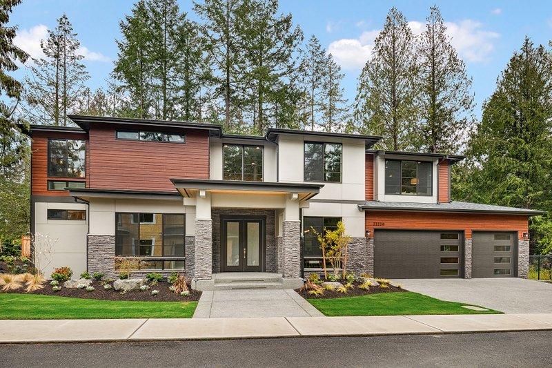 House Plan Design - Prairie Exterior - Front Elevation Plan #1066-94