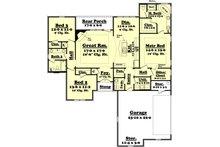 Traditional Floor Plan - Main Floor Plan Plan #430-60