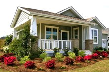 Architectural House Design - Craftsman Exterior - Front Elevation Plan #461-54