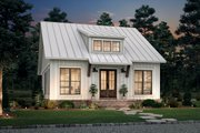 Farmhouse Style House Plan - 2 Beds 1 Baths 1070 Sq/Ft Plan #430-238 Exterior - Front Elevation