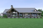 Craftsman Style House Plan - 3 Beds 2.5 Baths 2686 Sq/Ft Plan #1070-68 Exterior - Rear Elevation