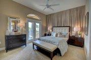 Mediterranean Style House Plan - 4 Beds 4 Baths 3012 Sq/Ft Plan #27-445 Interior - Bedroom