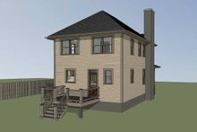 Southern Exterior - Other Elevation Plan #79-198