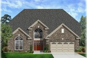 House Plan - 5 Beds 3.5 Baths 3243 Sq/Ft Plan #329-369 Exterior - Front Elevation