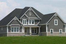 Dream House Plan - European Exterior - Front Elevation Plan #119-140