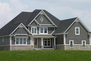 Home Plan - European Exterior - Front Elevation Plan #119-140