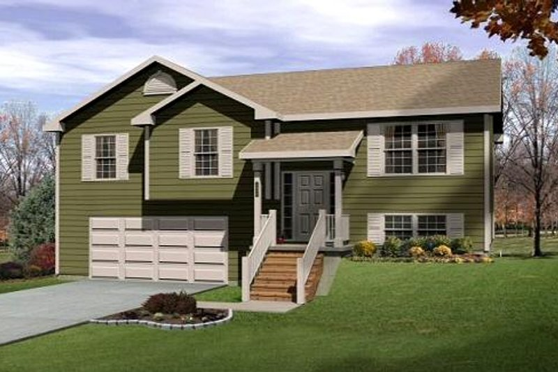 Home Plan - Traditional Exterior - Front Elevation Plan #22-532
