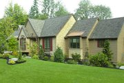 European Style House Plan - 3 Beds 2.5 Baths 3940 Sq/Ft Plan #48-430 Exterior - Front Elevation