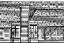 Architectural House Design - Traditional Exterior - Rear Elevation Plan #70-331