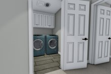 House Design - Traditional Interior - Laundry Plan #1060-37