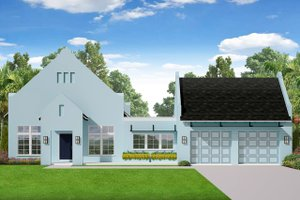 Modern Exterior - Front Elevation Plan #1058-171