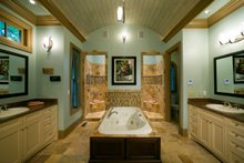 House Plan Design - Farmhouse Interior - Master Bathroom Plan #54-390