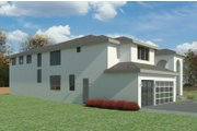 Mediterranean Style House Plan - 5 Beds 4.5 Baths 5145 Sq/Ft Plan #1066-108 Exterior - Other Elevation