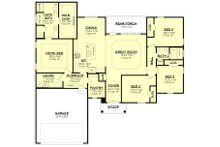 Country Floor Plan - Main Floor Plan Plan #430-173