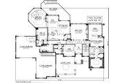 Traditional Style House Plan - 4 Beds 4.5 Baths 7047 Sq/Ft Plan #70-1155