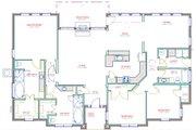 European Style House Plan - 3 Beds 3 Baths 2326 Sq/Ft Plan #408-103 Floor Plan - Main Floor Plan