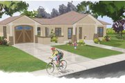 Ranch Style House Plan - 2 Beds 1 Baths 866 Sq/Ft Plan #515-20 Exterior - Front Elevation