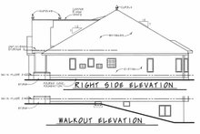 House Design - European Exterior - Other Elevation Plan #20-2460