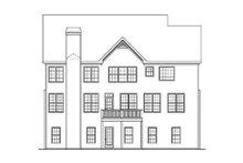 Craftsman Exterior - Rear Elevation Plan #419-194