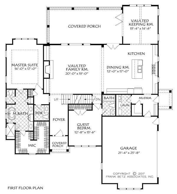 Traditional Floor Plan - Main Floor Plan Plan #927-985