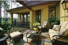 Architectural House Design - Mediterranean Exterior - Outdoor Living Plan #930-22