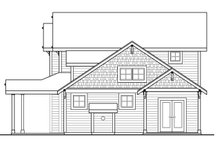 Architectural House Design - Country Exterior - Other Elevation Plan #124-1090