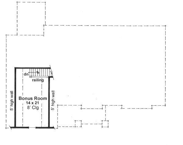 Craftsman Floor Plan - Other Floor Plan Plan #51-512