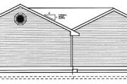 Traditional Style House Plan - 3 Beds 2 Baths 1018 Sq/Ft Plan #95-114 Exterior - Rear Elevation