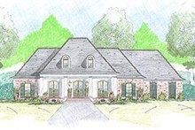 Dream House Plan - European Exterior - Front Elevation Plan #36-466