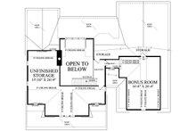 Country Floor Plan - Upper Floor Plan Plan #137-296