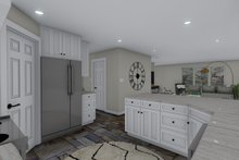 Traditional Interior - Kitchen Plan #1060-58