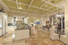 Mediterranean Interior - Kitchen Plan #930-508
