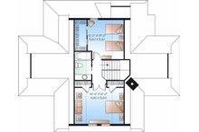 Country Floor Plan - Upper Floor Plan Plan #23-849