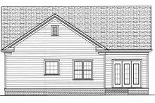 Dream House Plan - Colonial Exterior - Rear Elevation Plan #413-789