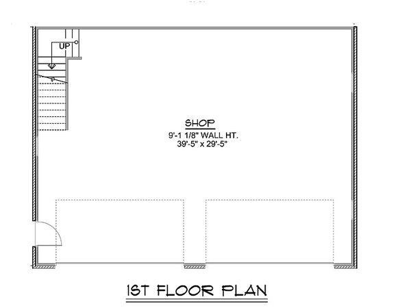 Dream House Plan - Craftsman Floor Plan - Main Floor Plan #1064-90